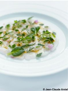 Jane and Olivier Roellinger Ceviche, Risotto, Potato Salad, Entrees, Seafood, Curry, Fish, Vegetables, Cooking