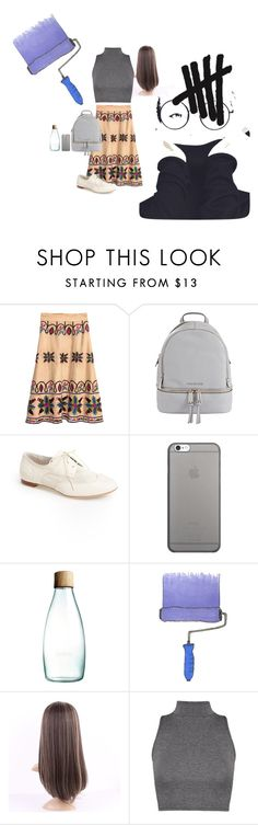 """""""casual"""" by daisy-giselle on Polyvore featuring MICHAEL Michael Kors, Attilio Giusti Leombruni, Native Union, Retap and Clayton"""
