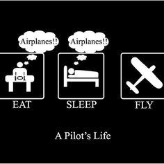 a student pilots life