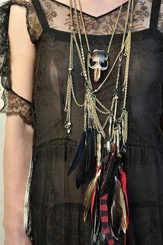 lace + jewels