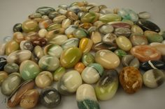 Alle meine Steine | Polymer clay stones by Ariene, Magic Toscana