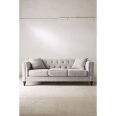Graham Microfiber Sofa (1 705 AUD) ❤ liked on Polyvore featuring home…