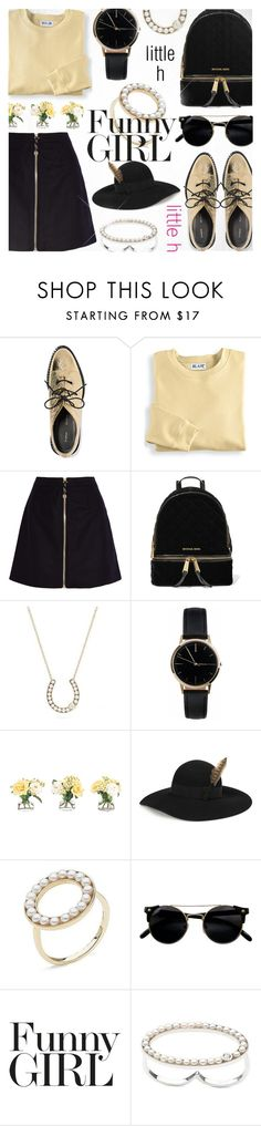 """""""Holidays with LITTLE h JEWELRY"""" by jiabao-krohn ❤ liked on Polyvore featuring Proenza Schouler, Blair, Acne Studios, MICHAEL Michael Kors, Freedom To Exist, NDI, Yves Saint Laurent, pearljewelry and littlehjewelry"""