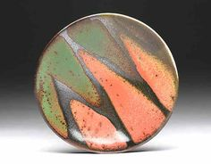 Texas, Pine Mills Pottery, platter by studio potter Daphne Hatcher