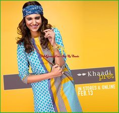 Latest Khaadi pret spring summer collection for girl and women 2016-17. http://newlatestfashion.com/khaadi-springsummer-collection/