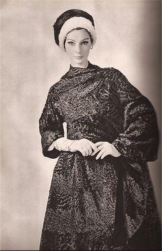 Femme Chic Fur  1962  Nina Ricci