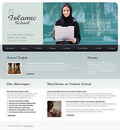 Islamic School Website Templates by Delta
