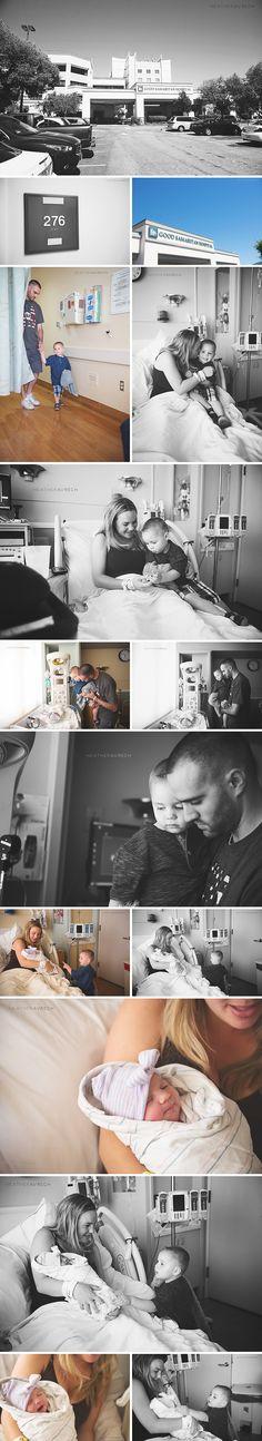 Inspiration | Fresh 48 Siblings Hospital | Heather Avrech Photography