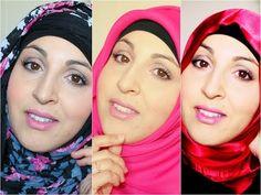 3 hijabs facile à réaliser avec Hijab-colors.fr - YouTube