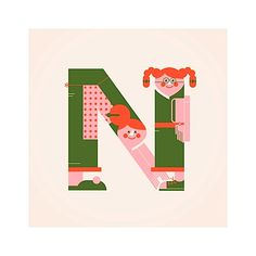 Awesome Alphabets Illustrations