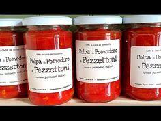 CONSERVA DI POMODORO A PEZZETTONI FATTA IN CASA - Homemade Diced Tomatoes | Fatto in casa da Benedetta