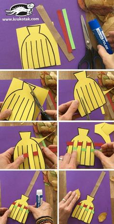 fall crafts for toddlers krokotak Fall Crafts For Toddlers, Paper Crafts For Kids, Craft Activities For Kids, Toddler Crafts, Kids Diy, Fall Preschool, Preschool Crafts, Toddler Preschool, Manualidades Halloween