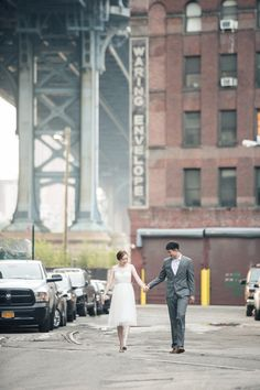 Bōm Photography – New York New Jersey Wedding Photographer | Nancy and Sam: Brooklyn Dumbo Engagement Photos - Bōm Photography - New York New Jersey Wedding Photographer