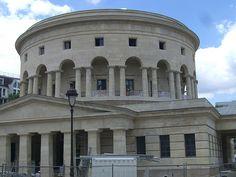Rotonde de La Villette, pavillon d'octroi (1784-1787) – Place Stalingrad, Paris X