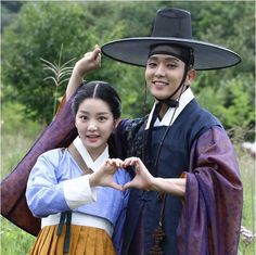 Scholar who walks the night - Lee joon gi & Lee yoo bi