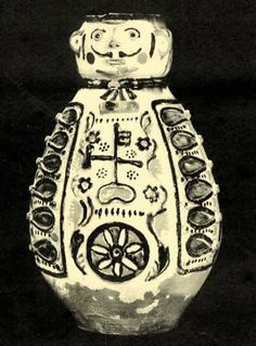 Balassa–Ortutay: Hungarian Ethnography and Folklore / Pottery Pickle Jars, Clay Figures, Folklore, Pottery, Ceramics, Body Parts, Hungary, Pots, Faces