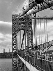 Fort Lee, Washington Heights, Hudson River, George Washington Bridge, Flash Drive, New York City, Iphone, Photos, Travel
