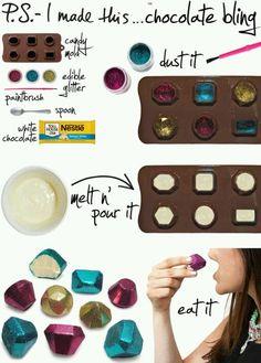 Glitter chocolate :))