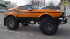 Ford F Mustang monster truck Ford Mustang Boss, Mustang Mach 1, Ford Gt, Mustang Cars, Lifted Ford Trucks, Big Trucks, Cool Trucks, Pickup Trucks, Cool Cars