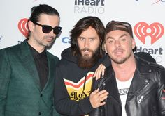 Thirty Seconds, 30 Seconds, 30 Sec To Mars, Mars Family, Hero 3, Shannon Leto, Jared Leto, Las Vegas, Eye Candy