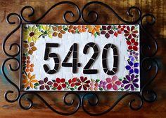Numero em mosaico, by Schandra Mosaico