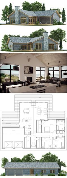 Prefab home design Best Metal Barndominium Floor Plans for Your Inspiration Best House Plans, Dream House Plans, Modern House Plans, Small House Plans, House Floor Plans, Future House, My House, Story House, Casas Containers