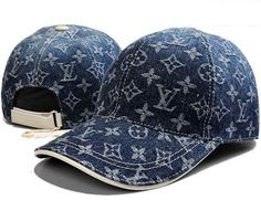 Louis Vuitton Denim Monogram Baseball Cap