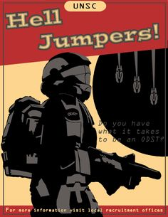 Based on war propaganda posters from WW2, we get a glimpse at what a ... Unsc Propaganda