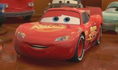 lightning mcqueen is a race car he likes to win the race and training doc hunson how to race his best friend mater and girlfrend sally Disney Cars Movie, Disney Cars Party, Car Party, Lightning Cars, Lightning Mcqueen, Disney Nursery, Baby Disney, Cars 1, Cars Series
