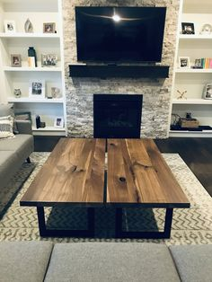 Beautiful live edge furniture built to your specifications. Order something Rustix today to see the difference quality makes. Live Edge Furniture, Furniture Design, Walnut Coffee Table, Dining Table, Interior Design, Studio, Products, Home Decor, Furniture