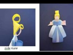 HOW TO MAKE CINDERELLA CLIPPIE WITH RIBBON