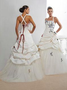 Robe de mariee poussan