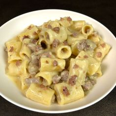 Half sleeves lined with potato cream and sausage. No Salt Recipes, Pasta Recipes, Cooking Recipes, Potato Recipes, Pasta Company, Ricotta Pasta, Sicilian Recipes, Sicilian Food, Good Food