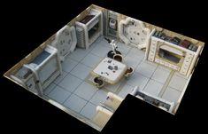 Star Wars miniatures decorations - Rémi Bostal, designer illustrator