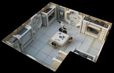 Star Wars miniatures decorations - Rémi Bostal, designer illustrator