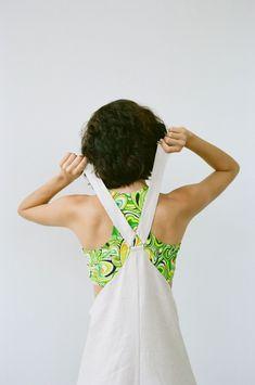 Nomia Racerback Swim Top - Neon Swirl | Garmentory Long Jumpsuits, Black Jumpsuit, Swim Top, Fabric Material, Fitness Models, Overalls, Feminine, Swimming, Street Style