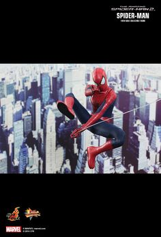 Hot Toys : The Amazing Spider-Man 2 - Spider-Man 1/6th scale Collectible Figure hottoys.com.hk