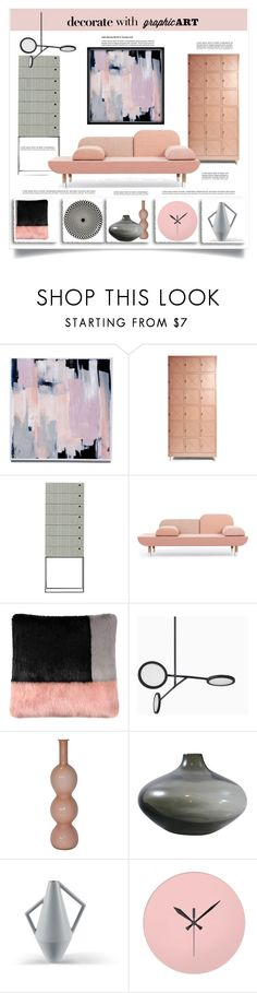 """""""Blush & Gray"""" by metter1 ❤ liked on Polyvore featuring interior, interiors, interior design, home, home decor, interior decorating, Ivano Redaelli, Helen Moore, canvas and Atipico"""