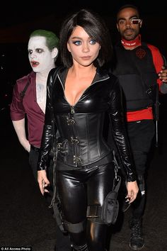 Sarah Hyland dresses up as a sexy mouse at Le Jardin nightclub