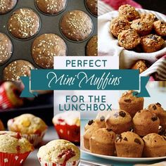 10 Perfect Mini Muffin Recipes for Lunch Boxes