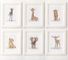 Safari Nursery Print set of Nursery decor, Safari animals African Baby Animal Prints, Giclee, African Animal Art, Safari Nursery Art Giraffe Nursery, Safari Nursery, Nursery Prints, Nursery Art, Nursery Decor, Baby Animal Nursery, Cheetah Nursery, Giraffe Pics, Safari Room