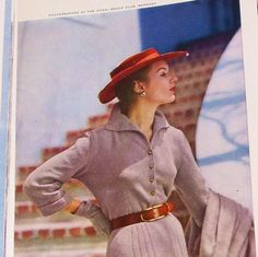 Vintage 1950s Vogue Knitting Magazine Fall by RebeccasVintageSalon, $24.00
