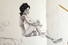 CBA - Dibujo del natural - 2/11/12