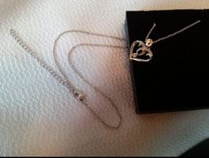 This heart shaped pendant is exactly as pictures show, very simple design with cubic zirconia to add just the perfect amount of sparkle. Such a pretty necklace, not too gaudy or obnoxious. Price:$14.97 http://amzn.to/2e9wNPH https://dashburst.com/michaela09/285