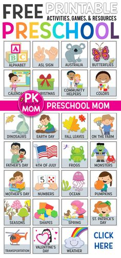 Over 500 FREE Preschool Worksheets! These FREE Preschool Worksheets are great for your Preschool Classroom! You'll find alphabet letters numbers colors shapes preschool math worksheets and more! Preschool Curriculum Free, Preschool Lesson Plans, Free Preschool, Preschool Themes, Preschool Printables, Preschool Kindergarten, Toddler Preschool, Preschool Pictures, Preschool Learning Colors