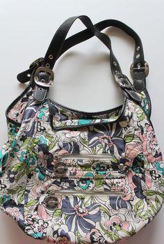Kathy Van Zeeland Purse Handbag Floral Print #KathyVanZeeland #ShoulderBag