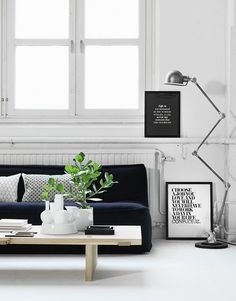 Words on the Wall — Graphic Prints by Therese Sennerholt Design