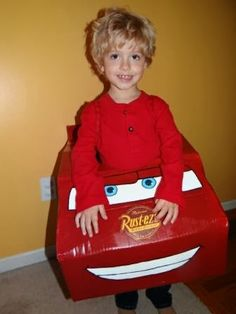 DIY Lightning McQueen Halloween Costume by Because I Said So (and Other…