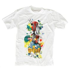 Illustration White T-Shirt