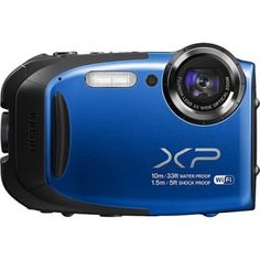 Qempo - Fujifilm FinePix XP70 Cámara digital de 16.4 megapíxeles resistente al agua
